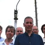 Neighbours campaign to save old street lights