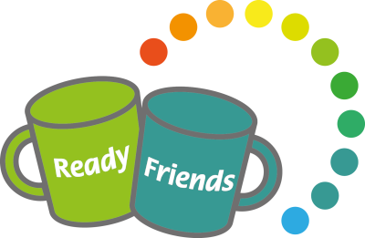 Ready Friends logo