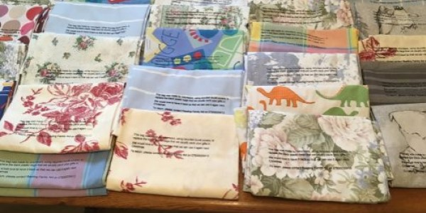Donate your old clean duvet covers to help Reading Family Aid reduce their reliance on single use plastic