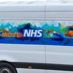 The Health on the Move van is out and about in Reading
